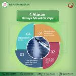 4 Alasan Bahaya Merokok Vape